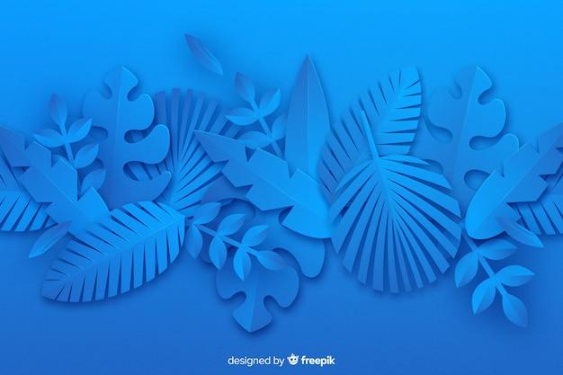 Nature feuilles monochromes