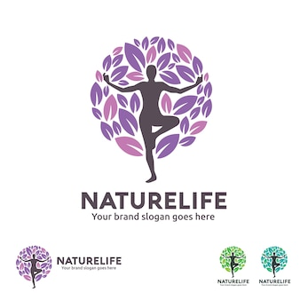 Nature life yoga logo