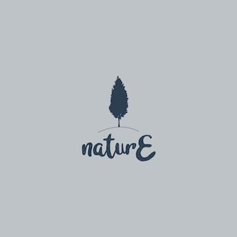 Nature logo fro affaires