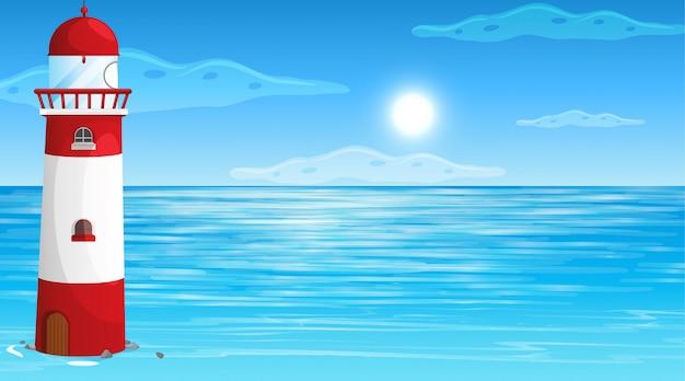Nature vide plage paysage océan côtier