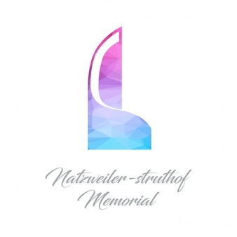 Natzweilerstruthof memorial logo polygone