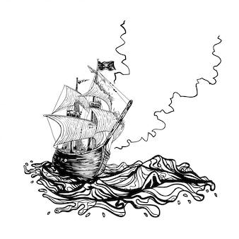 Navire de pirates