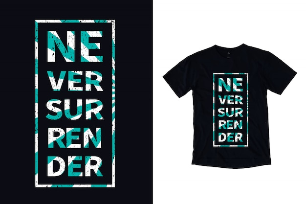 Ne jamais abandonner la typographie