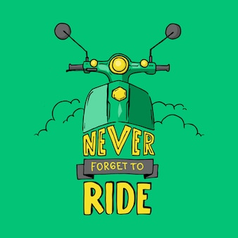 Ne jamais oublier de rouler