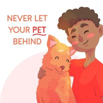Ne laissez jamais votre animal de compagnie derrière