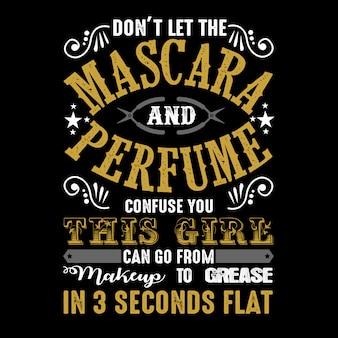 Ne laissez pas le mascara