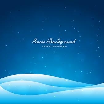 La neige fond