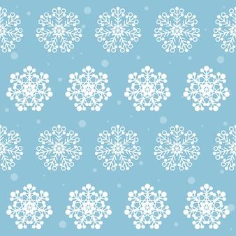 Neige hiver flocon de neige tissu textile nouvel an ou échantillon de noël sans soudure de fond