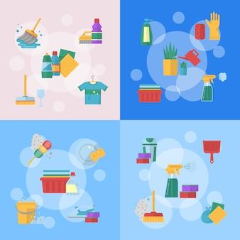 Nettoyage des icônes plates