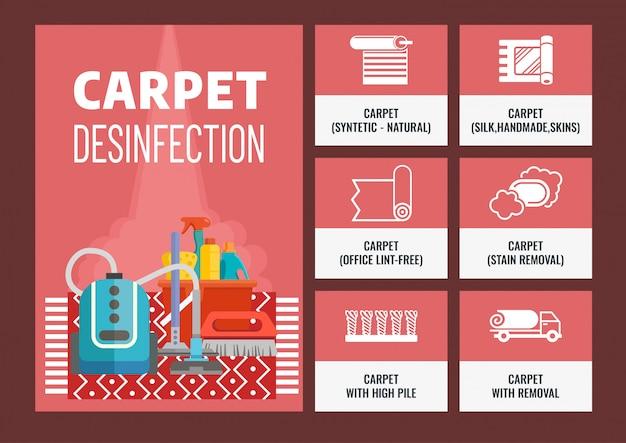 Nettoyage à sec des tapis