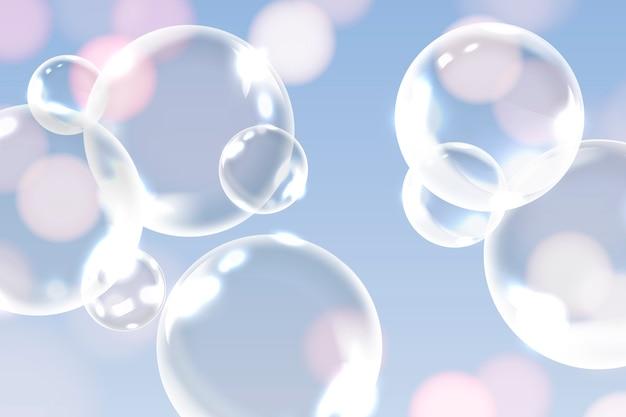 Nettoyer les bulles de savon