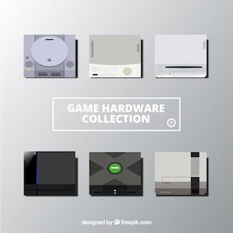 Neuf consoles différentes