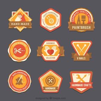 Neuf logos fantastiques pour la menuiserie