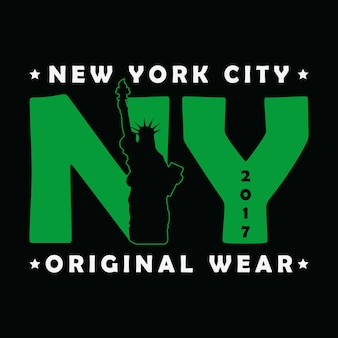New york city the statue of liberty print graphique urbain moderne pour tshirt
