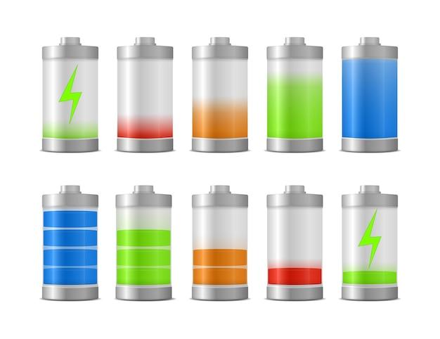 Niveau d'énergie de charge de la batterie à pleine puissance. énergie de pleine charge
