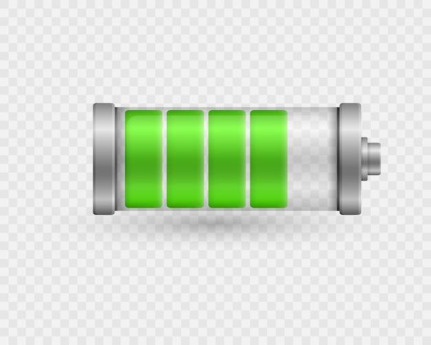 Niveau d'énergie à pleine puissance de charge de la batterie