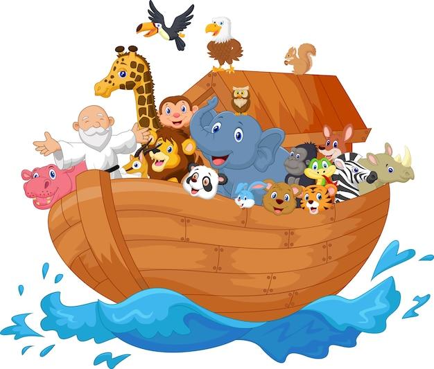 Noah ark dessin animé