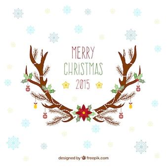 Noël 2,015 carte de voeux