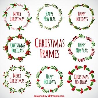 Noël encadre collection