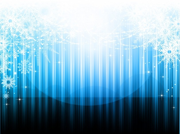 Noël fond rayé dans les tons bleus