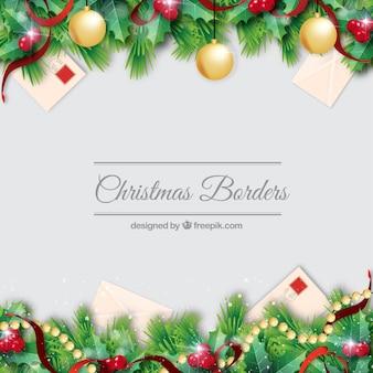 Noël frontières decorationb set
