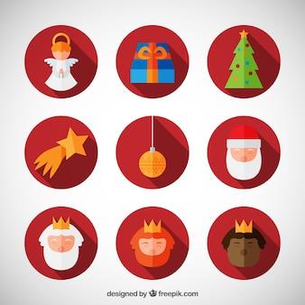 Noël icon set