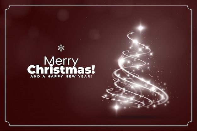 Noël léger avec fond rouge