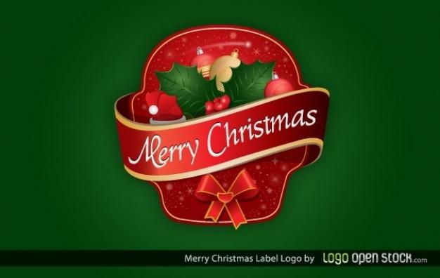 Noël sticker décoratif modèle d'ornements