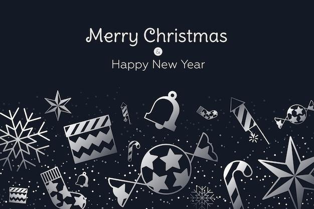 Noël style papier peint