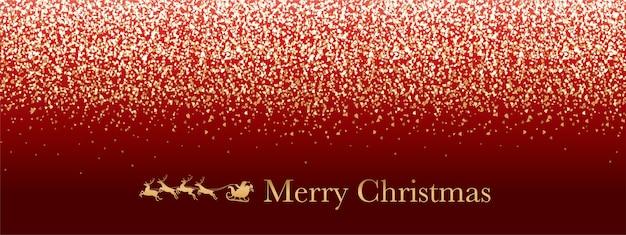 Noël vecteur rouge abstrait