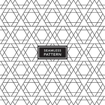 Noir et blanc sans soudure de fond géométrique. illustration vectorielle.