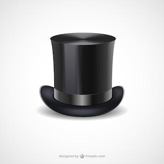 Noir chapeau haut