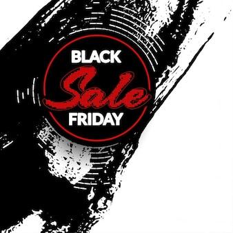 Noir vente vendredi grunge moderne fond
