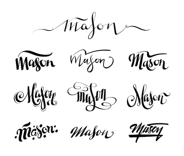 Nom personnel mason