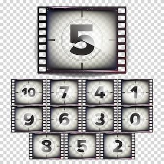 Nombre de films à rebours 10 - 0