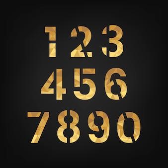 Nombre de système système numérique 0-9