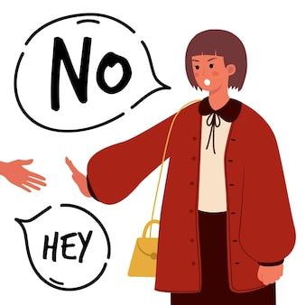 Non signifie non