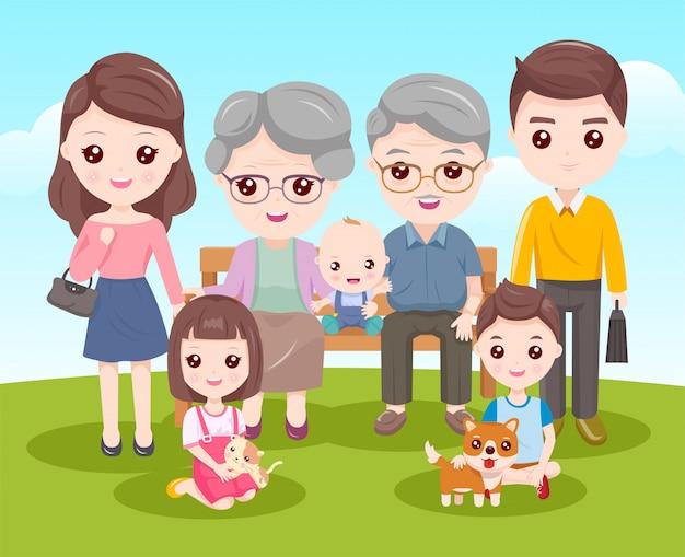 Nos membres de la famille