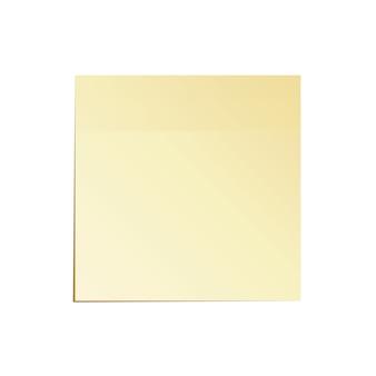 Notes de travail papier isolé vector