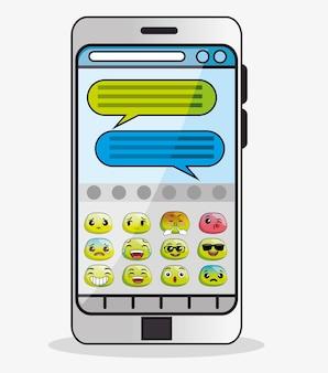 Notification de message emoji