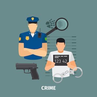 Notion de droit avec le crime