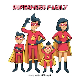 Notion de famille de super-héros