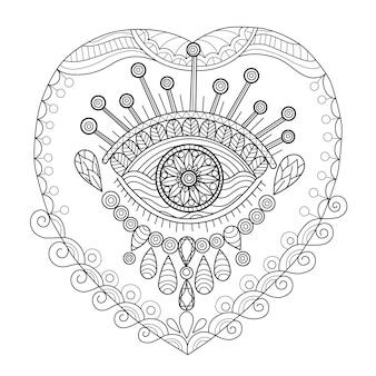 Nounours turc dessiné à la main