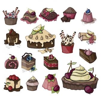 Nourriture d'anniversaire