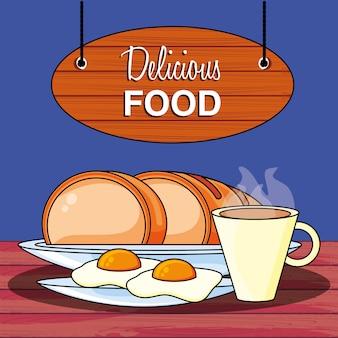 Nourriture délicieuse
