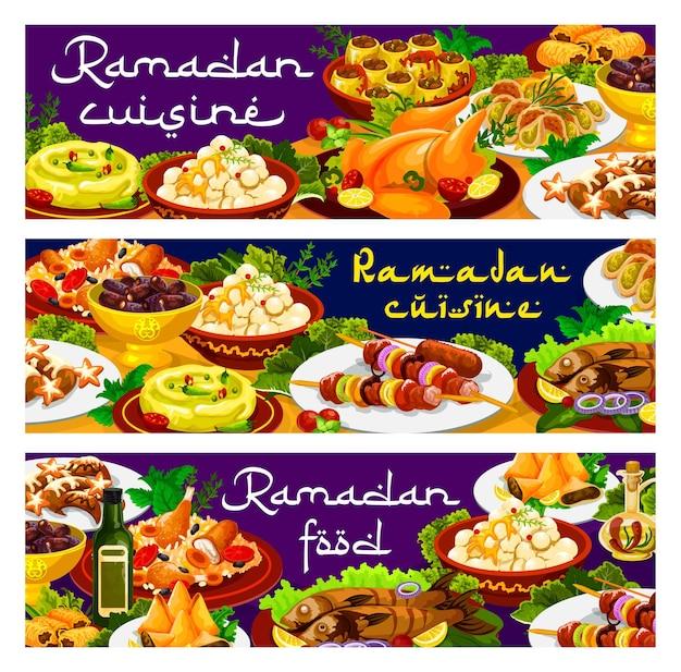 Nourriture du ramadan, iftar biryani et repas eid mubarak