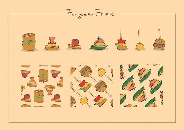 Nourriture à manger avec les doigts