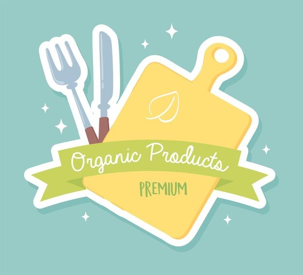 Nourriture de produits biologiques