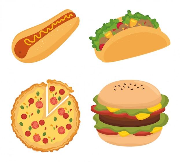 Nourriture rapide et délicieuse