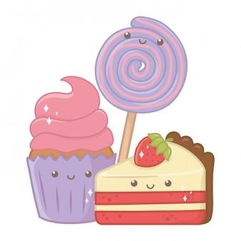 Nourriture sucrée et délicieuse